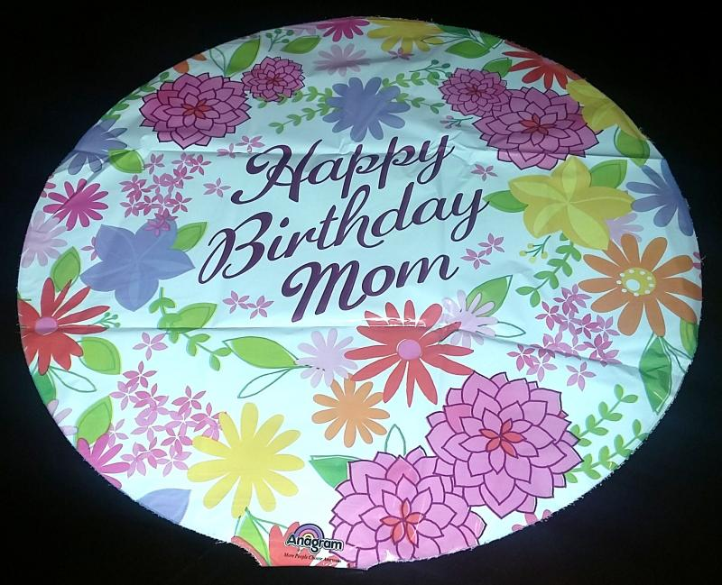 HAPPY BDAY MOM PASTEL FLOWERS